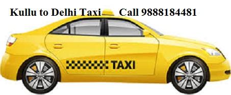 Kullu to Delhi taxi
