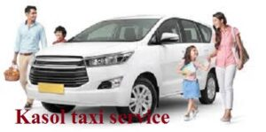 Taxi service in Kasol